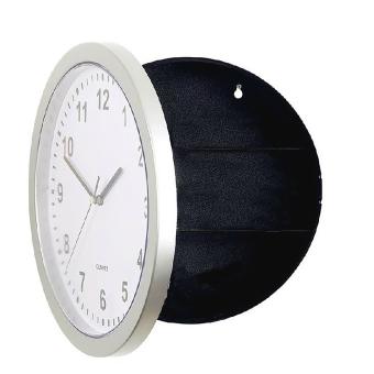 Novelty Wall Clock Diversion Safe Secret Stash Money Cash Jewelry Security Lock Box