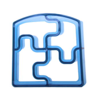 RIS Block Shaped Sandwich Cutter (Blue)