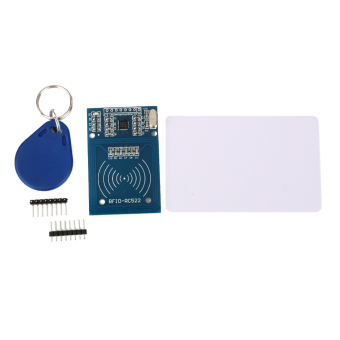 BolehDeals MFRC-522 RC522 RFID IC card inductive module with S50 Fudan card key chain