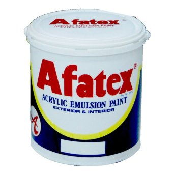 Afatex Cat Genteng Roof Paint 1 Galon - 4.5 Kg - Wine - Red R 010