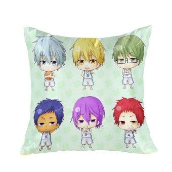 Kuroko no Basket Anime Dakimakura Waifu 40x40cm Square Pillow Cover GZFONG115