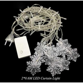 Lampu Hias Gantung Model Snowflakes