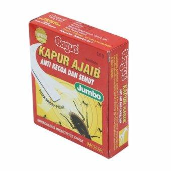 Bagus   Kapur Ajaib Anti Kecoa dan Semut Jumbo (Netto : 6 x 7g)