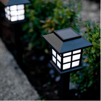 Lanjar Jaya Lampu Tancap 1 Led Tenaga Surya Stainlees Garden Lamp Source Jual Lampu dan Penerangan