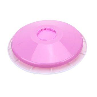 Removable 29CM DIY Cake Plastic Turntable - intl