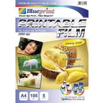 Harga blueprint bp tpa4160 transfer paper white a4 rumah tangga harga blueprint glosy gold printable film a4 malvernweather Choice Image
