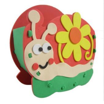 BolehDeals Kids DIY Handmade Snail Pen Container Holder Desktop Organizer Craft Kits - intl