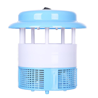Household Ultra Silent USB Rechargeable Electronic LED Mosquito Insect Bug Pest Fly Inhaler Trap Repellent Killer Lamp Blue