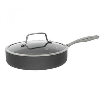 GPL/ Bialetti Ceramic Pro Hard Anodized Nonstick Deep Saute Pan, 11, Gray/ship from USA - intl