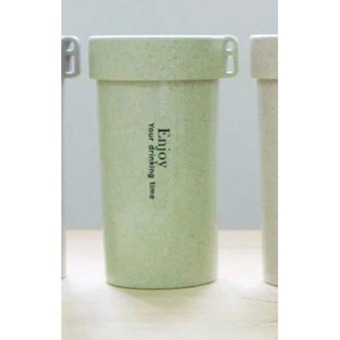 Botol Minum Enjoy Your Drinking BPA Free Unbreakable Bottle 350ml - Green