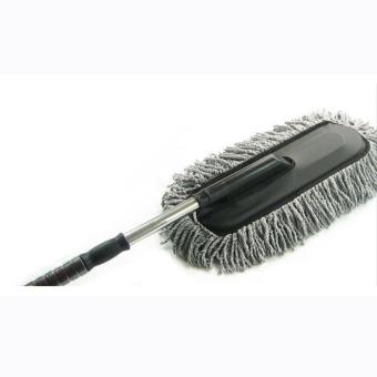 MOON STORE Car wax car cleaning duster telescopic dust mop wash wax brush cleaning supplies - intl