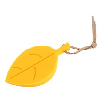 Silica Hanging Pinch-Resistant Door Stopper (Yellow)