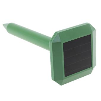 XI YOYO Garden Solar Sonic Sound Wave Mole Gopher Panel Snake Mouse Pest Repeller Device