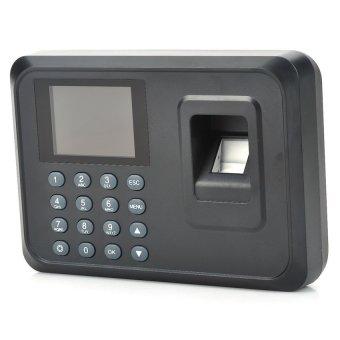 2.4�x9D TFT Screen Employee Attendance Digital Fingerprint TimeClockRecorder - Black - intl