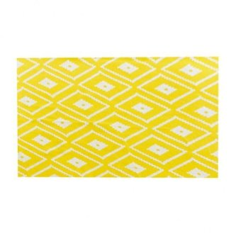 BolehDeals Fashion Tablecloth Table Cover Decor Wedding Party 100*140cm Yellow Plaid - intl