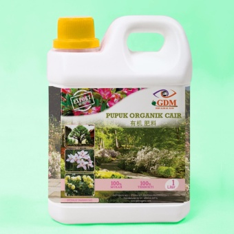 GDM Pupuk Organik Cair 1 Liter untuk Tanaman Hias