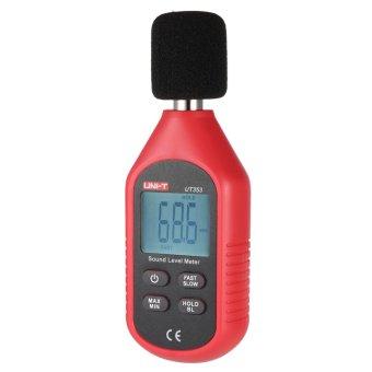 Uni-T UT353 Mini Display LCD Digital meteran tingkat kebisingan suara alat ukur desibel pemantauan