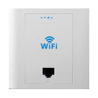 LAFALINK PW300S24 300Mbps 2.4GHz In-wall Wireless RJ45 AP Support 24V POE - Intl