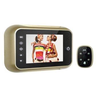 3.5 inci LCD Digital intai penampil 120Degrees mata bel pintu