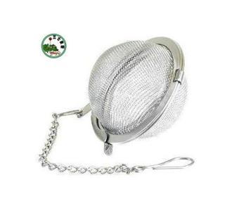 ooplm Stainless Steel Locking Spice Mesh Ball Tea Strainer Tea Infuser