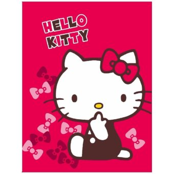 Selimut Akiko Sutra Panel 150x200 Hello Kitty