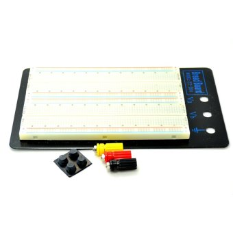 Breadboard 4 Bus Test Circuit Board Tie-point 1660 ZY-204 High Quality - intl