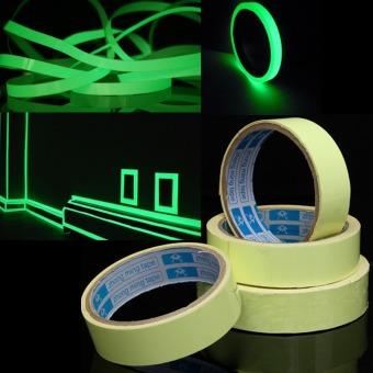 Harga Audew 2 m bercahaya Photoluminescent pita cahaya dalam kegelapan panggung dekorasi rumah lebar 25 mm
