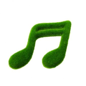 BolehDeals Lumut Musik Catatan Rumput Buatan Rumput Penghias Dekorasi Taman Lanskap Diseduh Sendiri #B - International