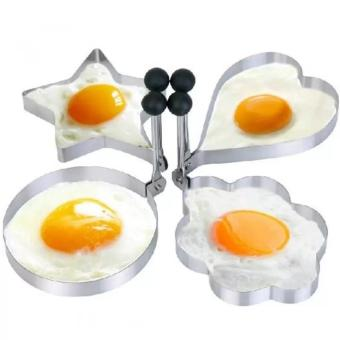 Kitchen Tool Stainless Steel Pancake Mold Ring Cooking Fried Egg Shaper