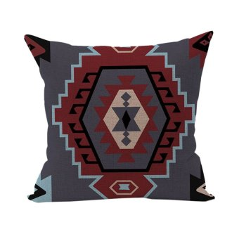Colorful Geometric Pattern Lines Pillow Case Throw Pillow Case Cushion Cover 13
