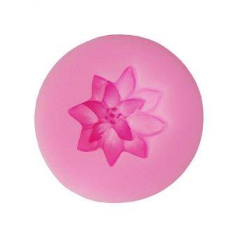BolehDeals 3D Flower Silicone Cake Mold Fondant Mould Decorating Baking Tool Orchid - intl