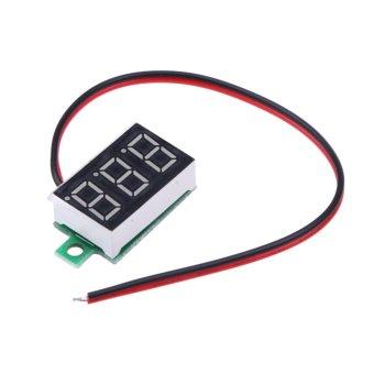 0.36-small Digital Meter Red Power Supply Range 5V-30V - intl