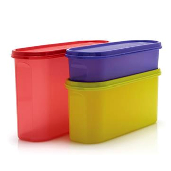 Tupperware Super Oval Set 3pcs