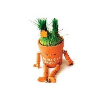 Bang Generic Lovely And Cute Diy Scud Grass Doll Kit (Orange) - intl