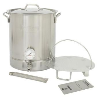 GPL/ Bayou Classic 10 Gallon Stainless Steel 6 piece Brew Kettle Set/ship from USA - intl