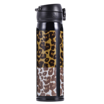 500ML Stainless Vacuum insulated Mug Leopard Pattern