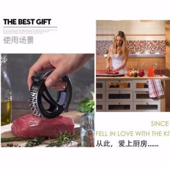 Meat Tenderizer Model RODA Alat Pelunak Daging Praktis Murah