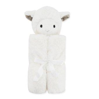 Lan Yu 76x76cm Cute Animal Baby Blanket Baby Bedding Super Soft Fleece Blanket Swaddle for Baby - White Sheep - intl