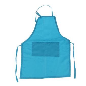 BolehDeals Children Kids Kitchen Baking Painting Apron Baby Art Cooking Carft Skyblue