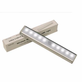 Lampu LED Sensor Infrared Deteksi Cahaya 10 LED - White