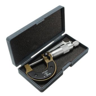 0-25mm 0.01mm Metric Diameter Micrometer Gauge Caliper Tool - intl