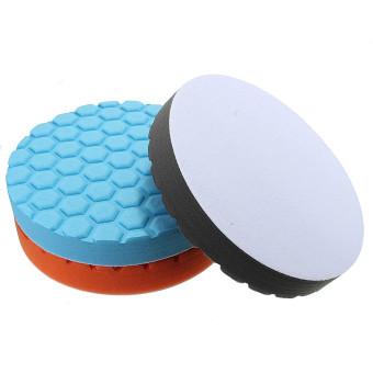 Autoleader Hex-Logic Buff Sponge Polishing Pad Kit Set For Car Polisher 7