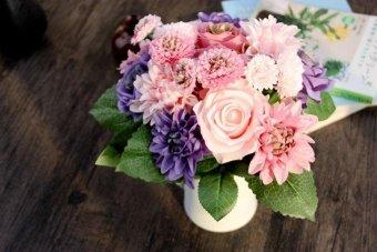 Harga Artificial Rose Peony Silk Flowers Leaf Bouquet Home Wedding Garden Decor Hot T - intl