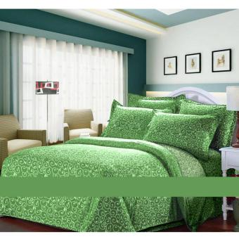 Alona Ellenov Ukir Hijau Bed Cover Set – Hijau