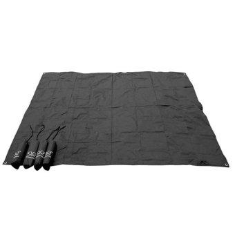 Harga JinGle 210*200cm Outdoor Camping Picnic Oxford cloth Cushion Mat Pad (Multi-
