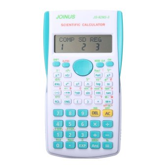 5pcs Super Quality School Student Function Calculator Scientific Calculator Multifunctional Counter Calculating Machine Blue - intl