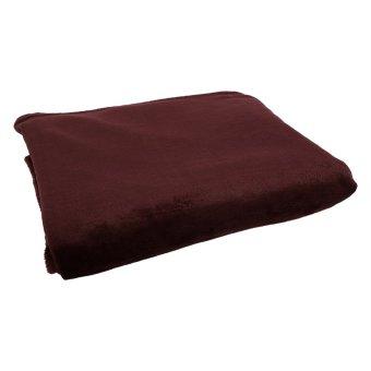 Diskon besar-besaran melemparkan selimut bulu hangat kamar tidur mewah rumah coklat gelap - International