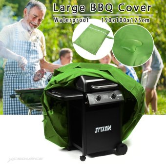 Large BBQ Cover Outdoor Waterproof Barbecue Garden Patio Grill Protector OS434