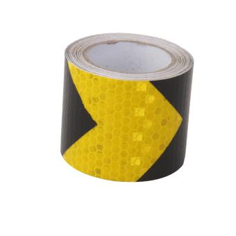 High Intensity Reflective Tape Self Adhesive Vinyl 5cm*3m Arrow pattern