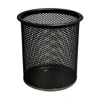 toobony Steel Mesh Pencil Cup,Black - intl